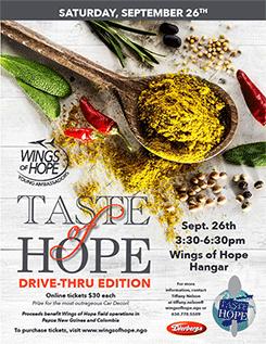 Taste of Hope Sponsorship Packet