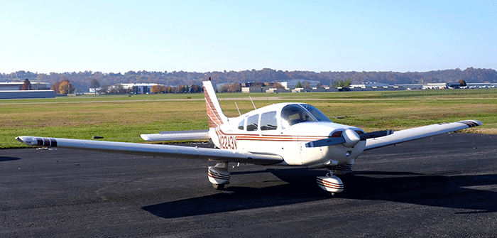 This Spring's raffle plane will be a 1979 Piper Warrior II