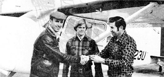 From left: Sinkler Manning, Mike Stewart, and Bob Weninger.