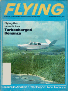 Africa By Michael Stimac Flying Magazine September 1966