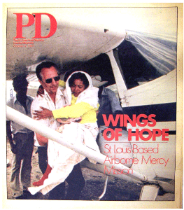 Help Arrives of Wings of Hope By Florence Shinkle St. Louis Post-Dispatch Oct. 4, 1981