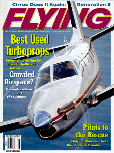 Connecting Worlds in the Ecuadorian Rainforest By Lane Wallace Flying Magazine Sept. 2007