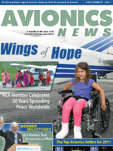 Wings of Hope Celebrates 50 Years Spreading Peace Worldwide By Christine Knauer Avionics News December 2011