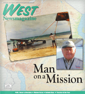 Wildwood pilot flies storied plane to Tanzania By Carol Enright West Newsmagazine June 4, 2014