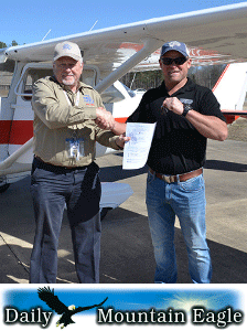 Arley man wins plane from national charity By Ed Howell Daily Mountain Eagle February 18, 2017