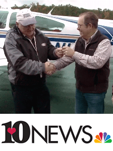 East Tennessee man donates airplane to 'Wings of Hope' NBC Knoxville (WBIR) October 29, 2017