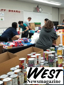 Parkway Central sends 7,678 pounds of supplies to Puerto Rico By Jessica Meszaros West Newsmagazine November 2, 2017