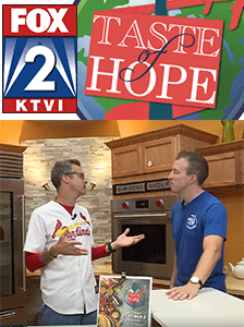 Taste of Hope for Wings of Hope FOX St. Louis (KTVI) October 3, 2019