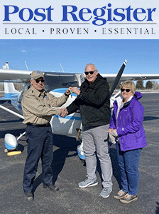 Idaho Falls man wins airplane in national raffle By Sally Krutzig Post Register Feb. 21, 2020